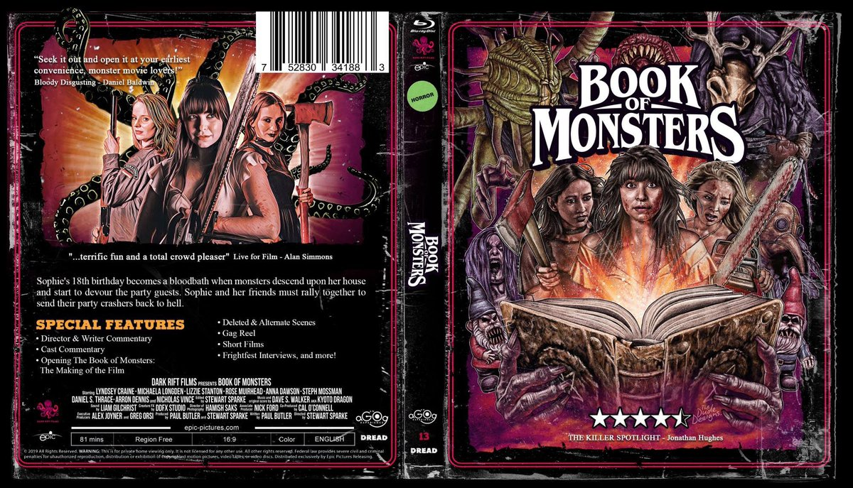 action book monster party party action book
