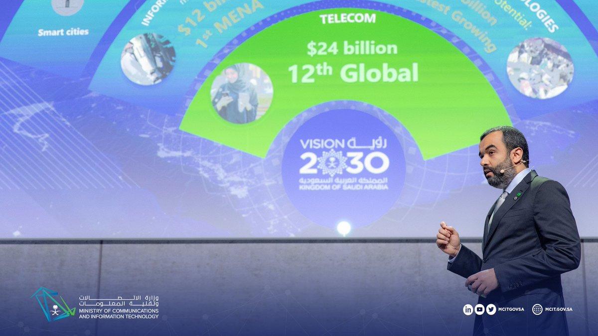 f1c9758e7 ... العالمي للاتصالات اللاسلكية ببرشلونة، معالي @aalswaha: دعماَ لمسيرة  التحول الرقمي المنشود، المملكة ستكون من الدول السباقة في إطلاق تقنية  #الجيل_الخامس.