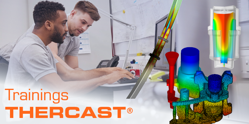 💼 #Trainings for beginners on THERCAST®. > Ingot casting: http://ow.ly/PQgV50lI0ur > Continuous casting: http://ow.ly/4xWl50lI0uq > Foundry processes: http://ow.ly/ruPT50lI0us  #Foundry #Casting #Ingot #ContinuousCasting #SimulationSoftware #MetalForming #Microstructure #Molding