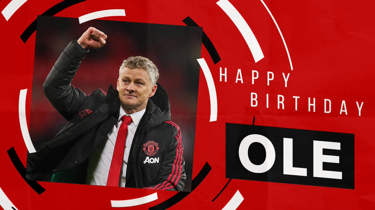 Happy 46th birthday, Ole. We hope you have a brilliant day! ♥️