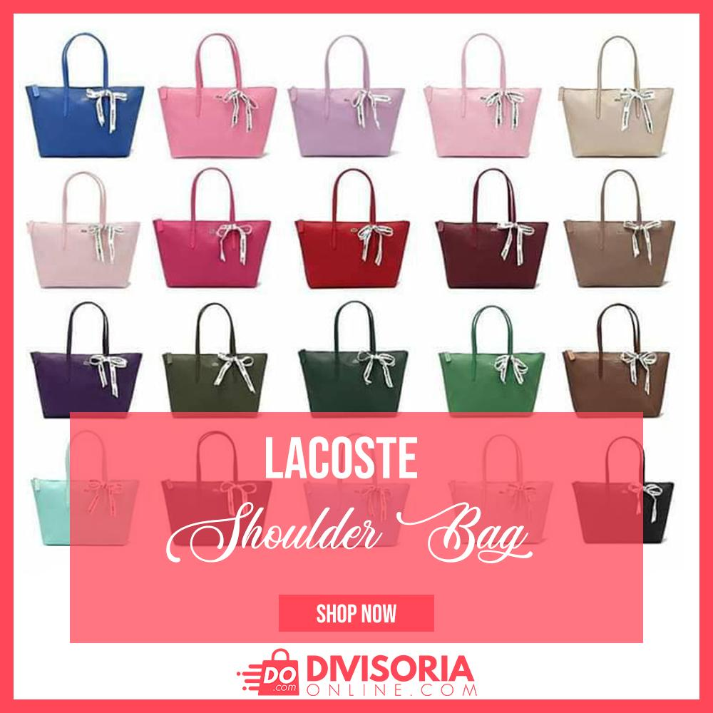 32394b248fc0c4 Divisoria Online ·  divisoria ph. a month ago. Our latest Lacoste Shoulder  bag for Women for ₱370.00 ONLY. More bags for women