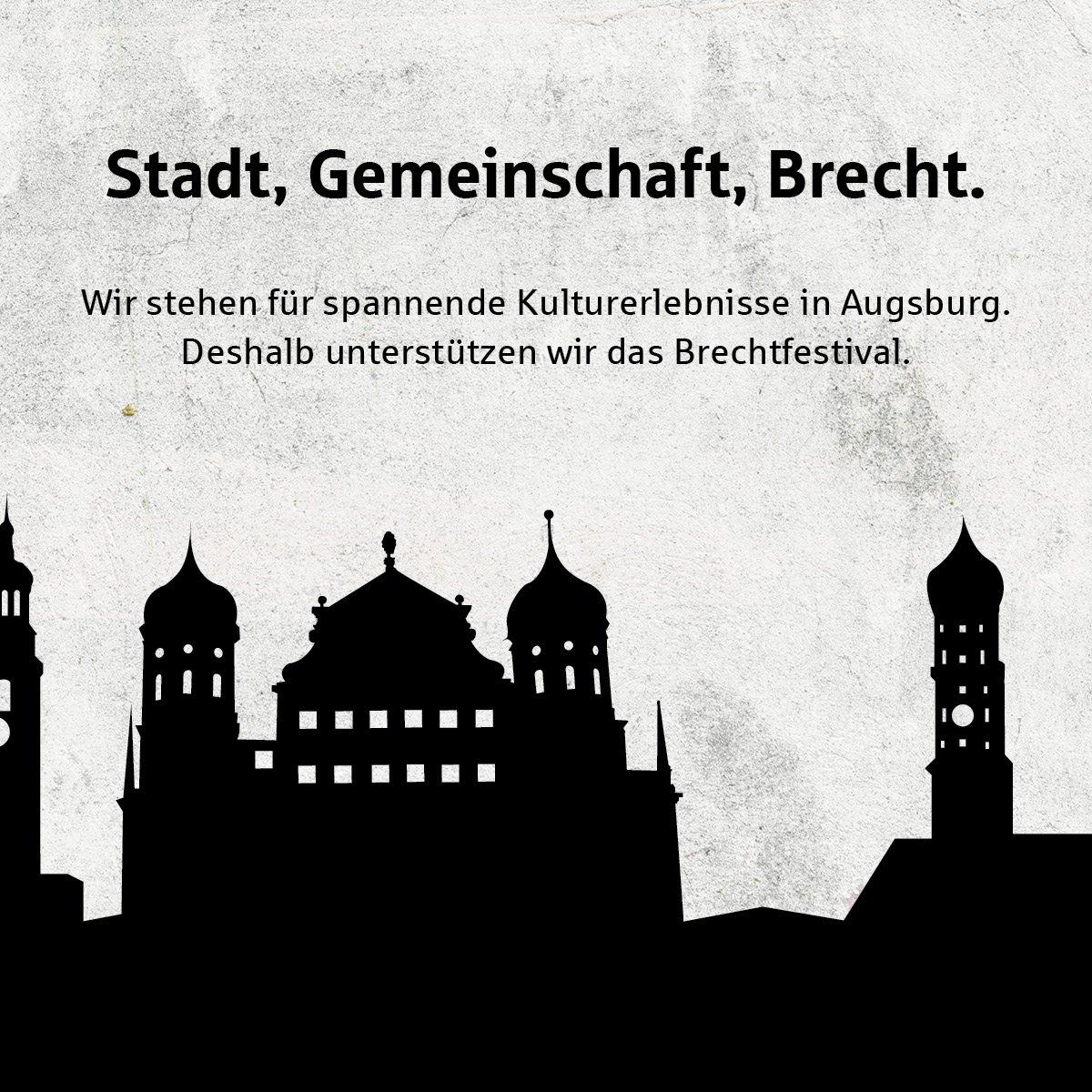 Das @BrechtfestivalA läuft aktuell auf Hochtouren – mit spannenden  Theaterproduktionen, interessanten  Literaturveranstaltungen und der  Langen Brechtnacht am 01.03. http://s.de/11mi #Brechtfestival #langeBrechtnacht #SSKA #StadtsparkasseAugsburg #Augsburgpic.twitter.com/x0gAjIxX80