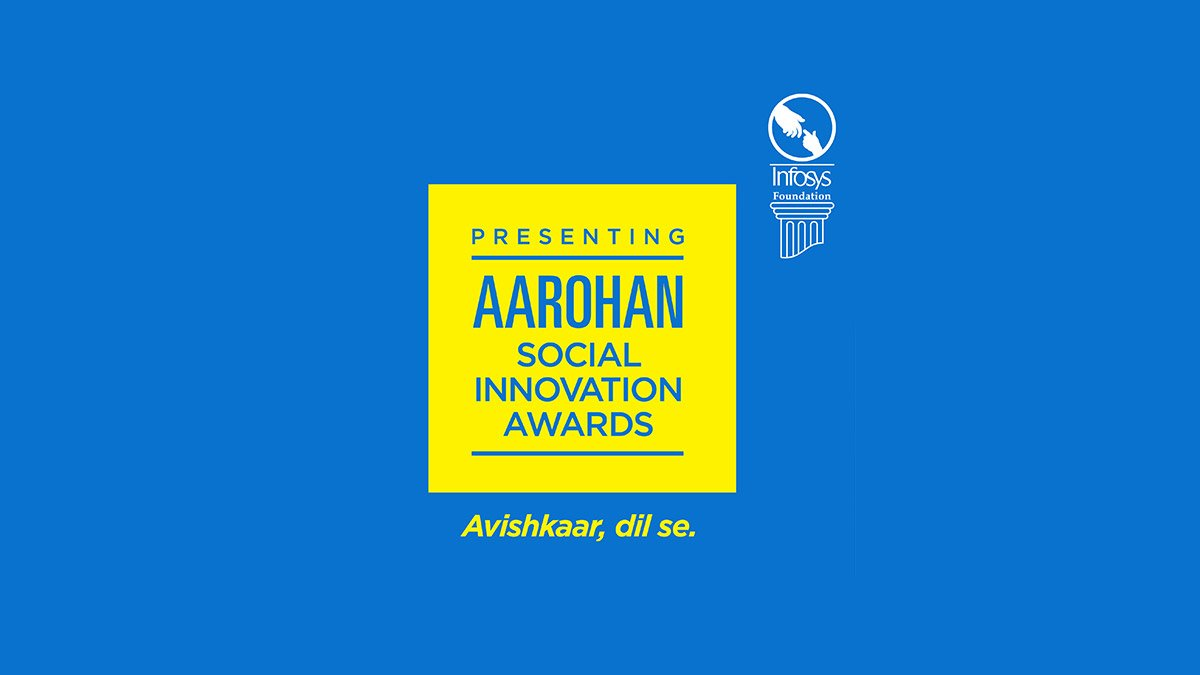 The winners of 2019 #Aarohan #SocialInnovation awards are announced. The Foundation has identified 6 #awards categories: Healthcare, Rural Development, Destitute Care, Women's Safety & Empowerment, Education & Sports and Sustainability. Press release here: https://infy.com/2SZRHZp