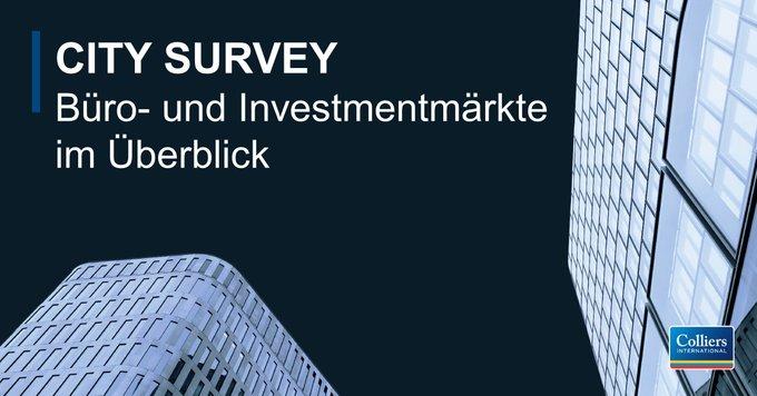 Im City Survey 2018/2019 erhalten Sie alle Informationen zum deutschen Bürovermietungsmarkt sowie zu den Investmentmärkten. Darüber hinaus gibt's alle Marktberichte für #Berlin, #Düsseldorf, #Frankfurt, #Hamburg, #Köln, #München und #Stuttgart:  t.co/vVIuosfCmq