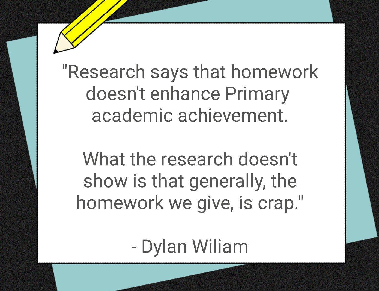 dylan wiliam homework