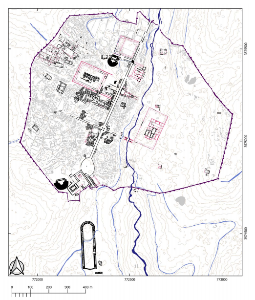 AntiquityJ FREE 🆕 #archaeology ⛏ #mapping 🗺 #Jerash 🇯🇴 on
