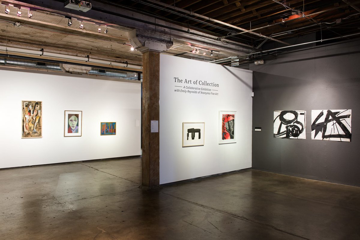 If you missed the opening of the Anonyma Fine Art show opening at @artuntitled - you can stop by this Thursday for a special Café Society: Meet the Collector - Emily Ladow Reynolds on February 28th from 6-7:30 PM. This event is free and open to the public! http://bit.ly/2U7O404
