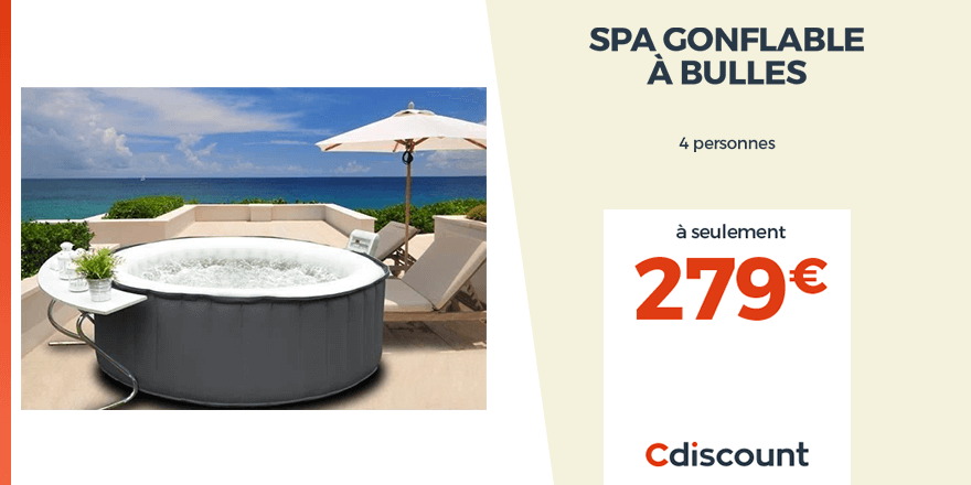 jacuzzi cdiscount 4:00 AM - 26 Feb 2019