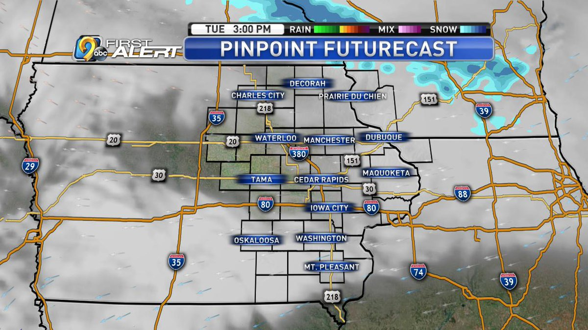 Kcrg Tv9 First Alert Weather On Twitter While We Have Another Snow