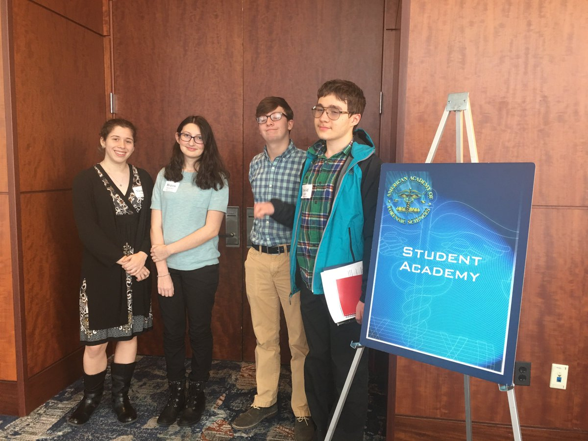 At the close of the American Academy of Forensic Sciences National Conference, our students learned from professionals some real life experiences! <a target='_blank' href='http://twitter.com/APS_CTAE'>@APS_CTAE</a> <a target='_blank' href='http://twitter.com/arlingtontechcc'>@arlingtontechcc</a> <a target='_blank' href='http://twitter.com/APSCareerCenter'>@APSCareerCenter</a> <a target='_blank' href='https://t.co/W7zokmjyxX'>https://t.co/W7zokmjyxX</a>