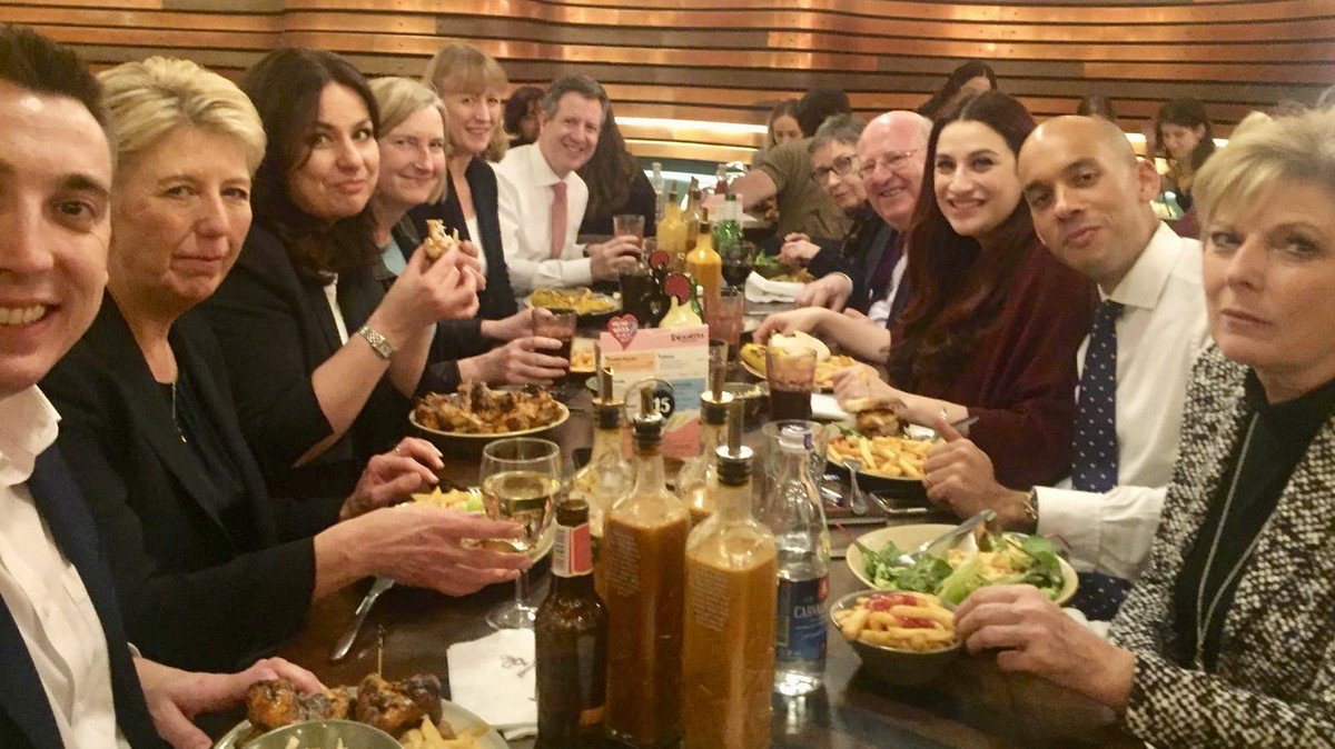 Calculating the Exact Amount of Banter in That Photo of The Independent Group at Nando's http://dlvr.it/Qzjjk3