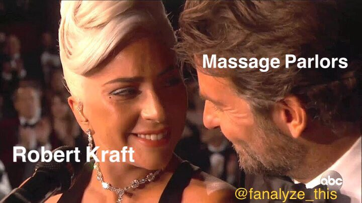 Find someone that looks at you like Robert Kraft 😂 #kraft #comedy #podcast #funny #nfl #patriots #football #massage #oscars #ladygaga #bradleycooper #movies #sports #blowies #meme #fanalyzethis #barstool #pmt