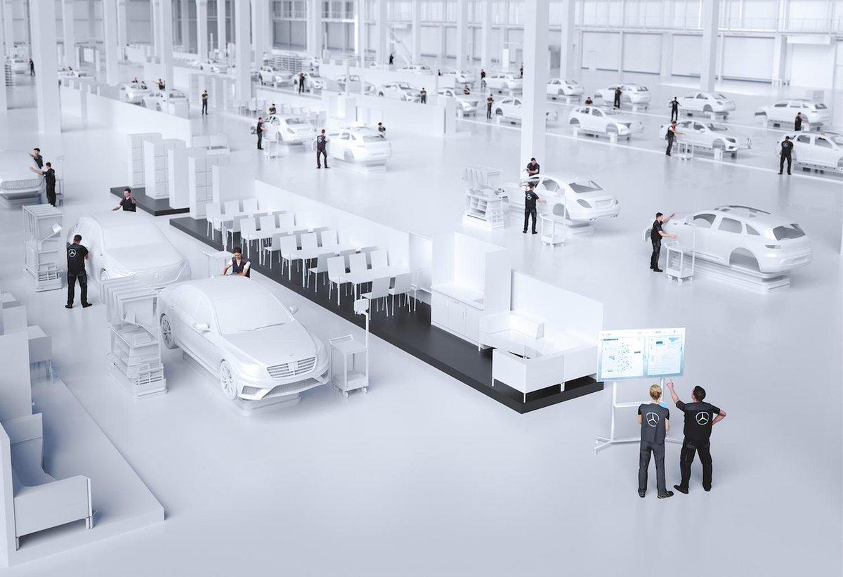"""In einem spannenden Beitrag beschreibt Ralf Bretting, wie die modernste #Automobilproduktion der Welt aussehen wird, die als """"Factory 56"""" bezeichnet wird. In der """"Factory 56"""" werden die modernsten #Produktionstechnologien eingesetzt.  Hier der Link dazu https://buff.ly/2Nv17WJ"""