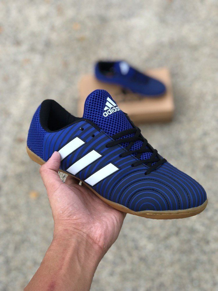 a9d66be36 Adidas Futsal V2 Black blue Price   RM85 SM   RM 90 Size  40-