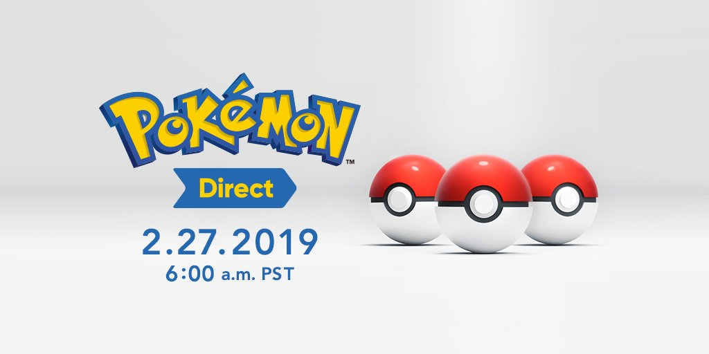 These are all the details you're getting...until tomorrow. 😉  Set your alarms, Trainers—you don't want to miss this Pokémon Day! ⏰ #PokemonDirect https://t.co/SvMFzfsM5m