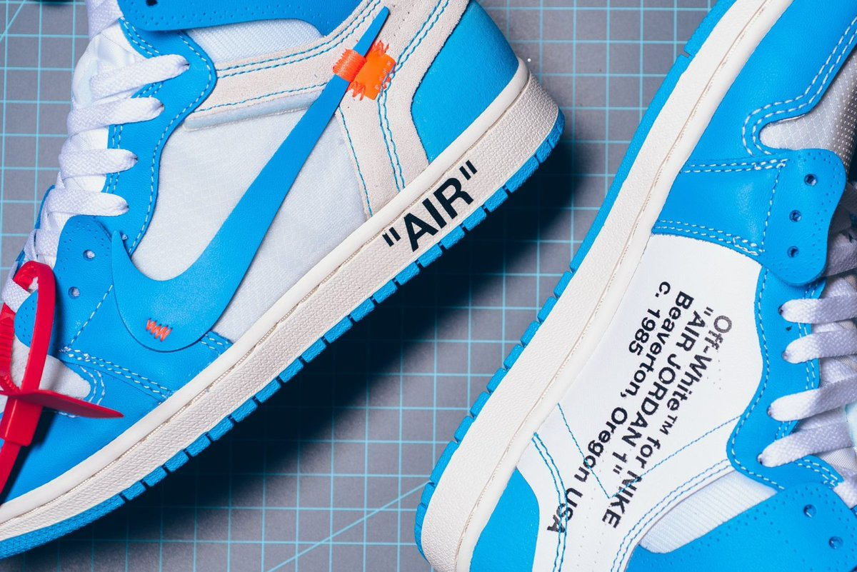 The Off-White x Air Jordan 1  UNC  is getting a LIMITED RESTOCK 682ef27ba