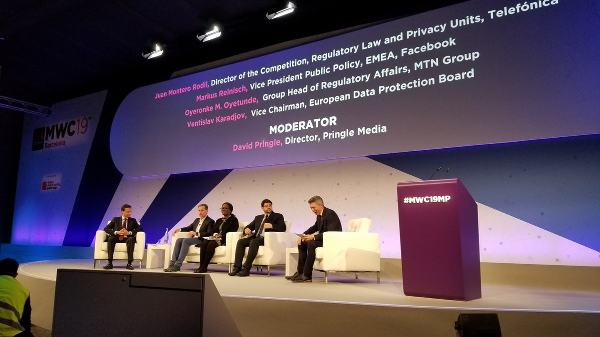 test Twitter Media - Engaging #MWC19MP panel discussions on #5G, the future of smart cities, and regulatory policy during day two of @GSMA's #MWC19 in Barcelona. https://t.co/Ufn9ITruAR