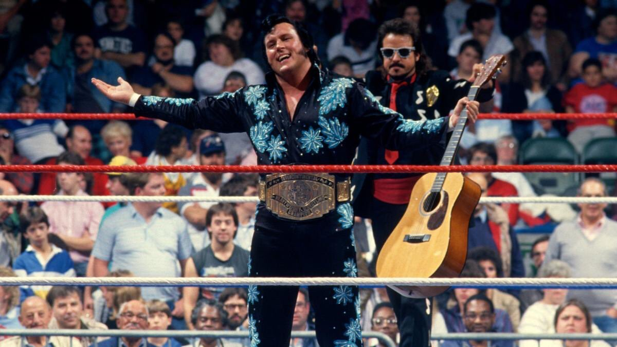 A man who IS entertainment ... He shaked, rattled, and rolled into @WWE history books with a #ICTitle reign of over 450 days. Congratulations @OfficialHTM and welcome to the #WWEHOF!