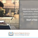 Make your reading more organized with digital library, where you can have the books you want to read in your library and organize them into reading lists. Start a free trial today  . . . #astrialibrary #ebooks #elearnig #digital #education #reading https://t.co/LPC7KQRUlw