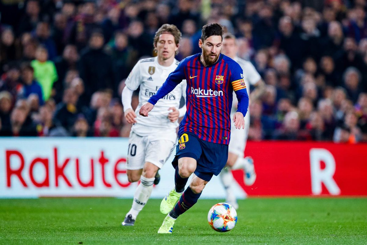 fc barcelona on twitter valverde it s an important match an elclasico at the bernabeu is always complicated the semifinals are wide open nothing has been decided but we expect to twitter
