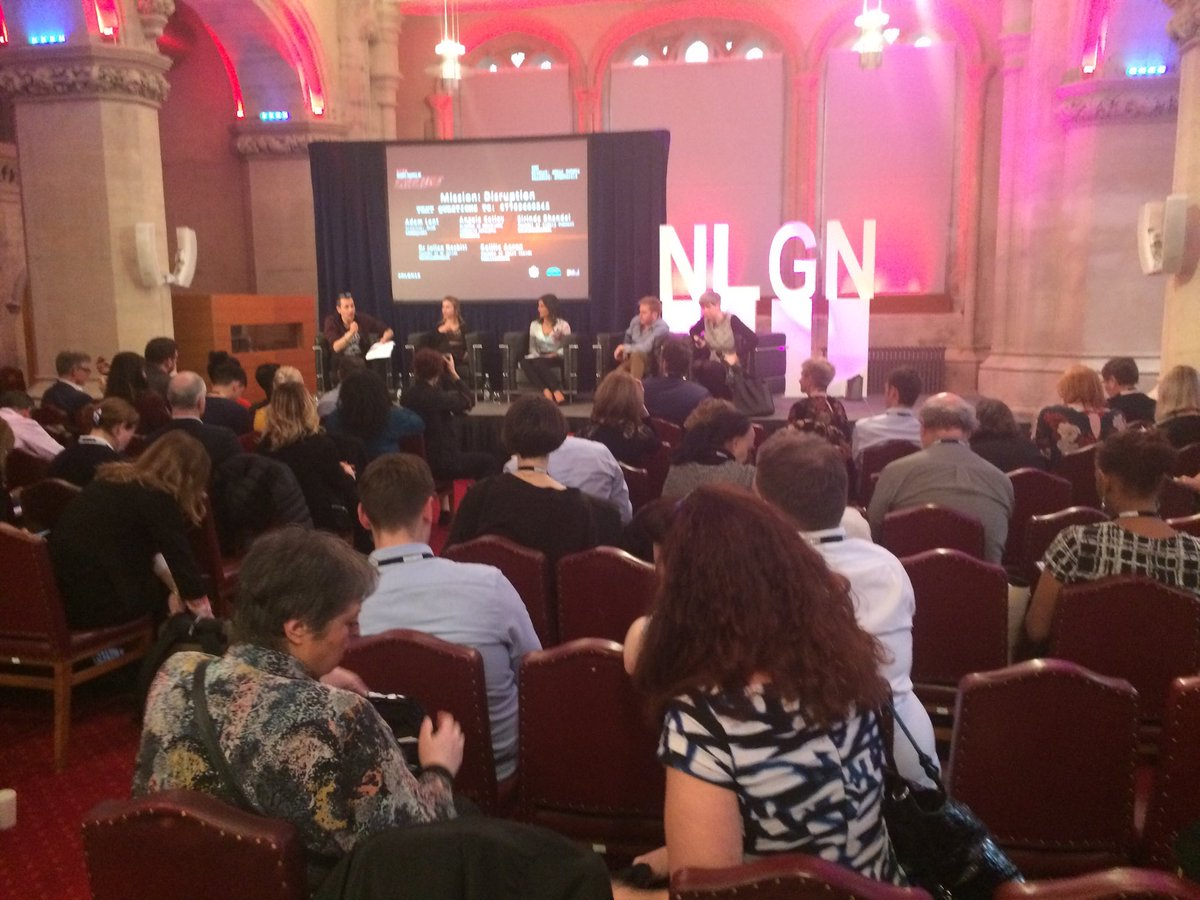 Thank you ⁦@NLGNthinktank⁩ for a great conf today and an intelligent approach to important #localgov issues inc positive disruption to achieve what our communities want and need!