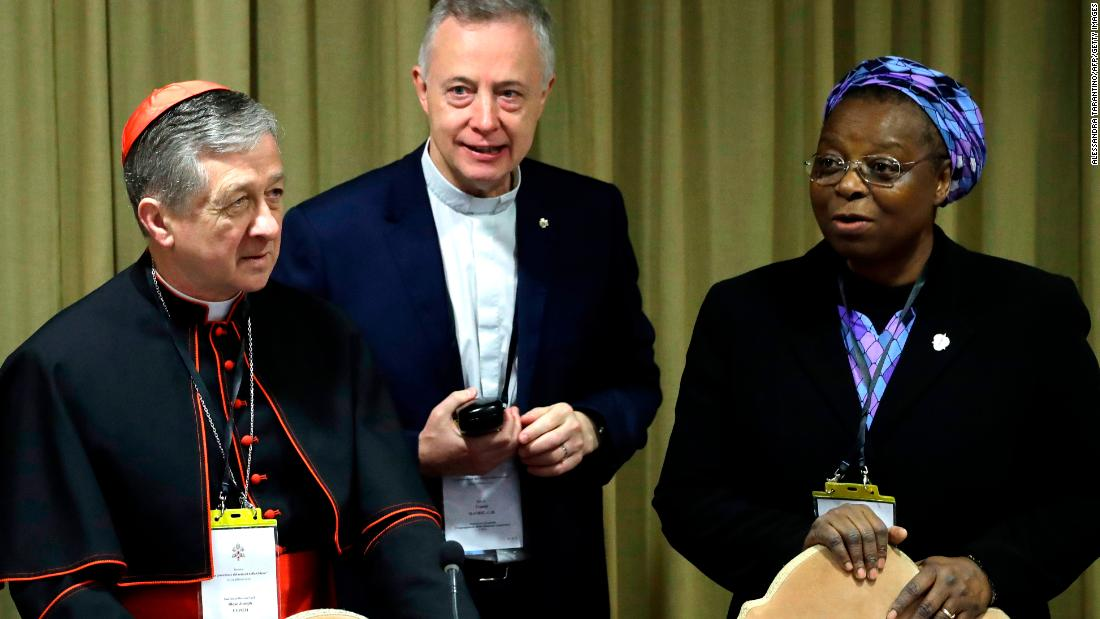 At Vatican summit, a Nigerian born-nun challenged Church's culture of  silence on sexual abuse https://cnn.it/2Ve8pkn pic.twitter.com/ZaOmmTTvme