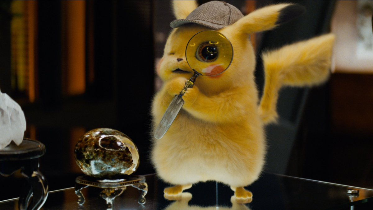 *GASP* Is that a new #DetectivePikachu trailer!? Now that's very twisty.