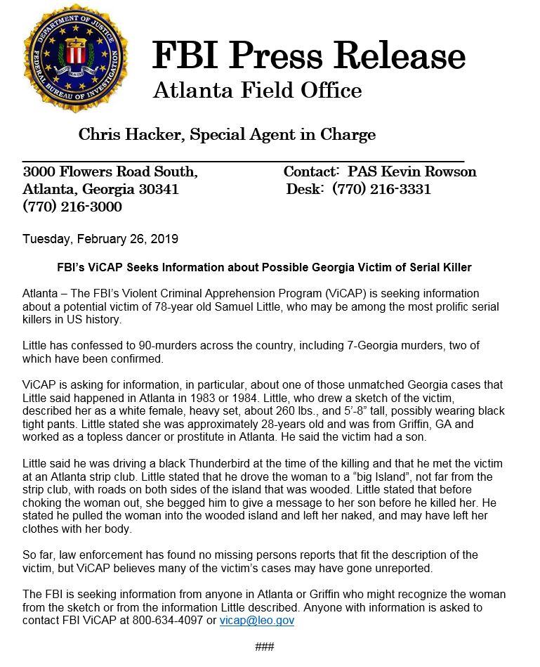 FBI Atlanta on Twitter: