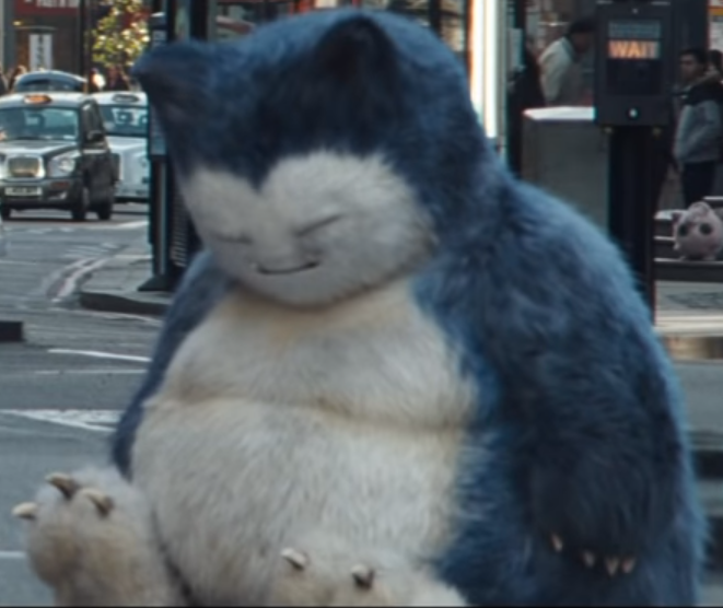RT so blessed sleeping realistic Snorlax is on everyone's timeline