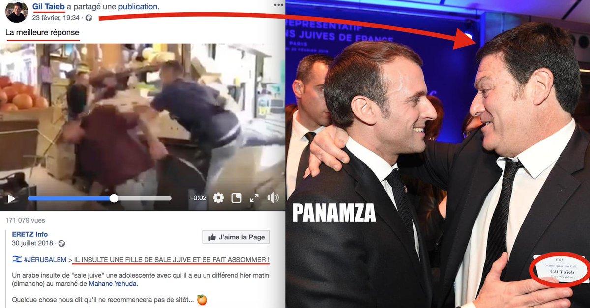 Un dirigeant du Crif prône la violence: Macron l'embauche pour lutter contre la