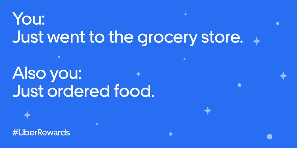 You do you.  Earn points when you order on @UberEats with #UberRewards. Learn more at http://ubr.to/rewards.  Terms apply.