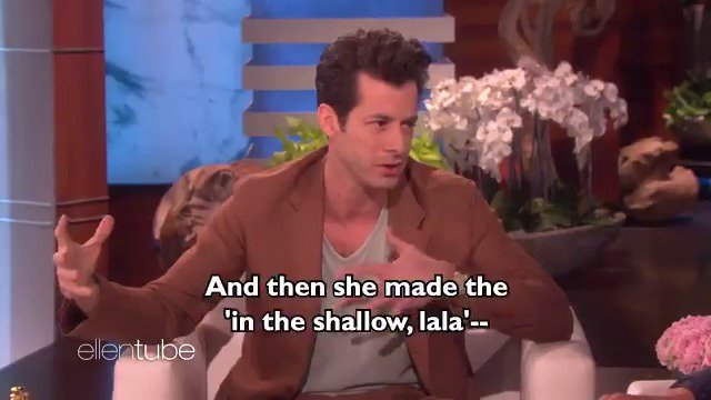 .@MarkRonson won an Oscar with @LadyGaga for 'Shallow,' and he was here to tell me all about it. #Oscars https://t.co/YNvXUMB5eZ