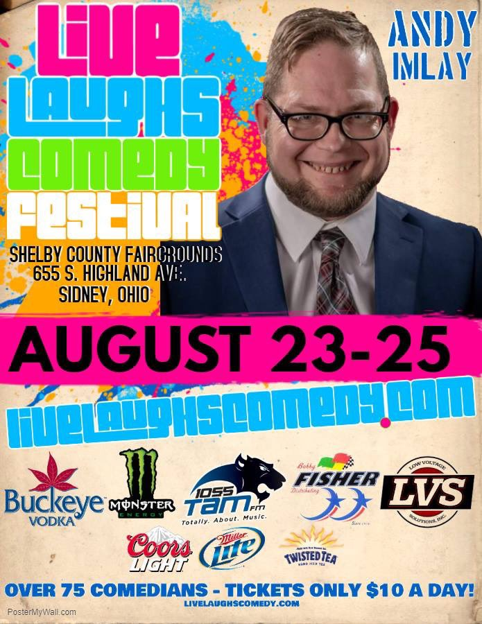 I'm headed to Ohio in August #whatcerebralpalsy #livelaughscomedyfestival #middleagedjimmy #comedian #comedynews #ready4summer<br>http://pic.twitter.com/BloGn12CgU