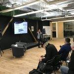 Image for the Tweet beginning: Blockchain & Big Data Meetup!