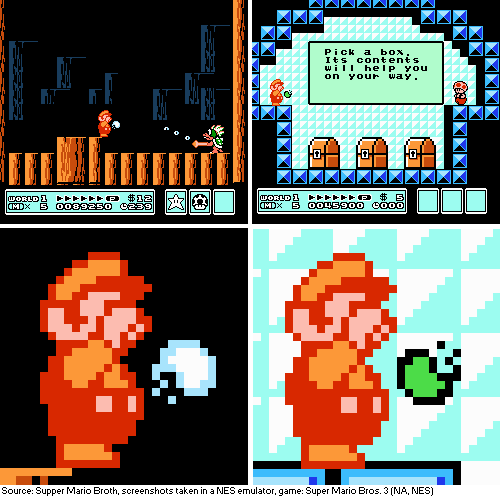 Supper Mario Broth On Twitter In Super Mario Bros 3 Certain Environments Cause Fire Mario S Fireballs To Assume