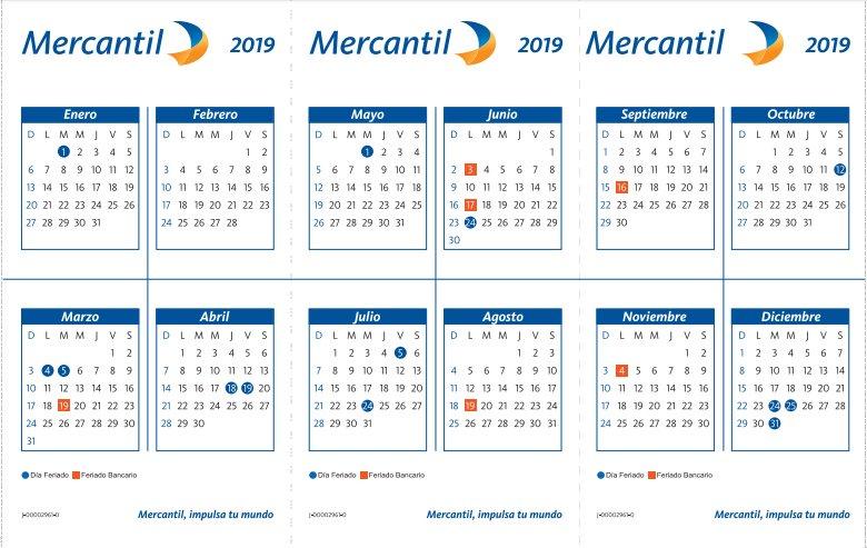 #ClientesMercantil El lunes #4Mar y el martes #5Mar serán #FeriadosNacionales por #Carnaval. Por favor, tome sus previsiones.