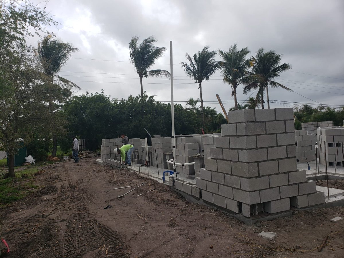 We are so excited about the progress at 904 SW 28th Ave in Boynton Beach #NewConstruction #contractor #NewHomes #BoyntonBeach #construction #homeforsale