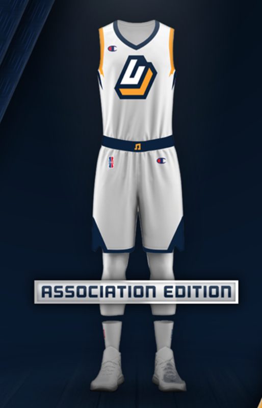 Utah Jazz unveil digital jerseys that will be worn by their gamers avatars  in the  NBA2KLeague this season. Champion has sponsored the entire league s  ... aa182b266