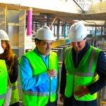 Image for the Tweet beginning: El alcalde visita las obras