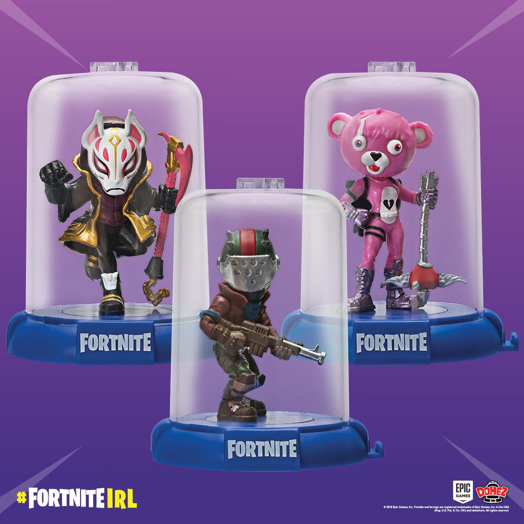 Connect & Display—Your Way! Collect all your favorite outfits with #Domez.  #FortniteIRL  http://Fortnite.Jazwares.com