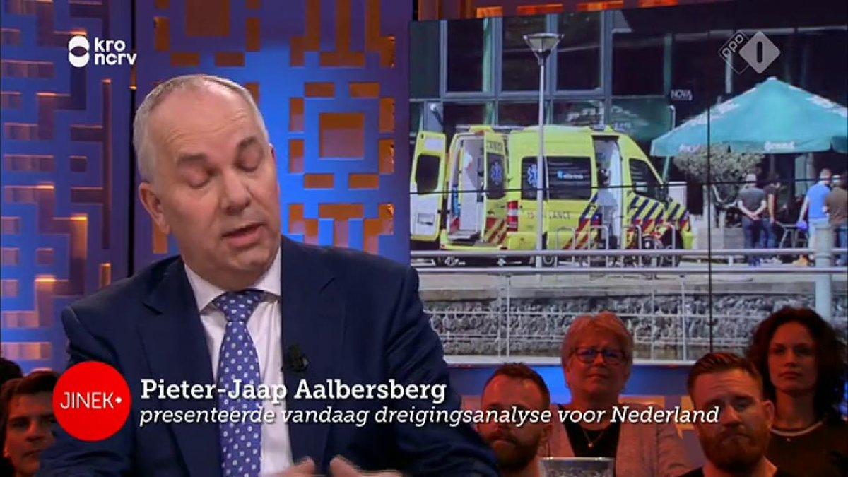 Jinek gemist? Pieter-Jaap Aalbersberg over het dreigingsniveau in Nederland