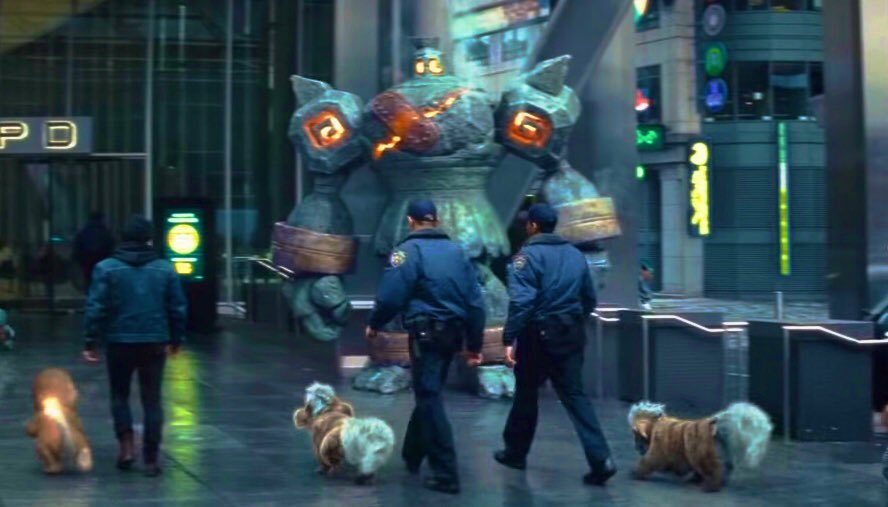 """James Turner on Twitter: """"So awesome to see my Pokémon Golurk in the new #DetectivePikachu trailer!!! OK the sequel has to be 'Detectives Pikachu & Golurk', a buddy cop movie where Pikachu's"""