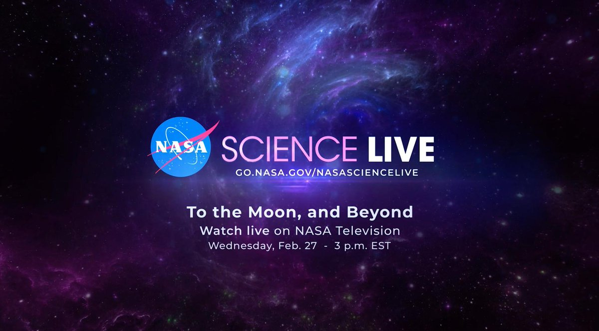 Tune in ⬇️ to #NASAScience Live now to hear @NASAMoon 🌑 scientists talking about our nearest cosmic neighbor. Look close for a special guest star — Earth 🌎! Remote regions of our home planet act as analogs to study the Moon. 📺 go.nasa.gov/NASAScienceLive Have questions❓ #askNASA