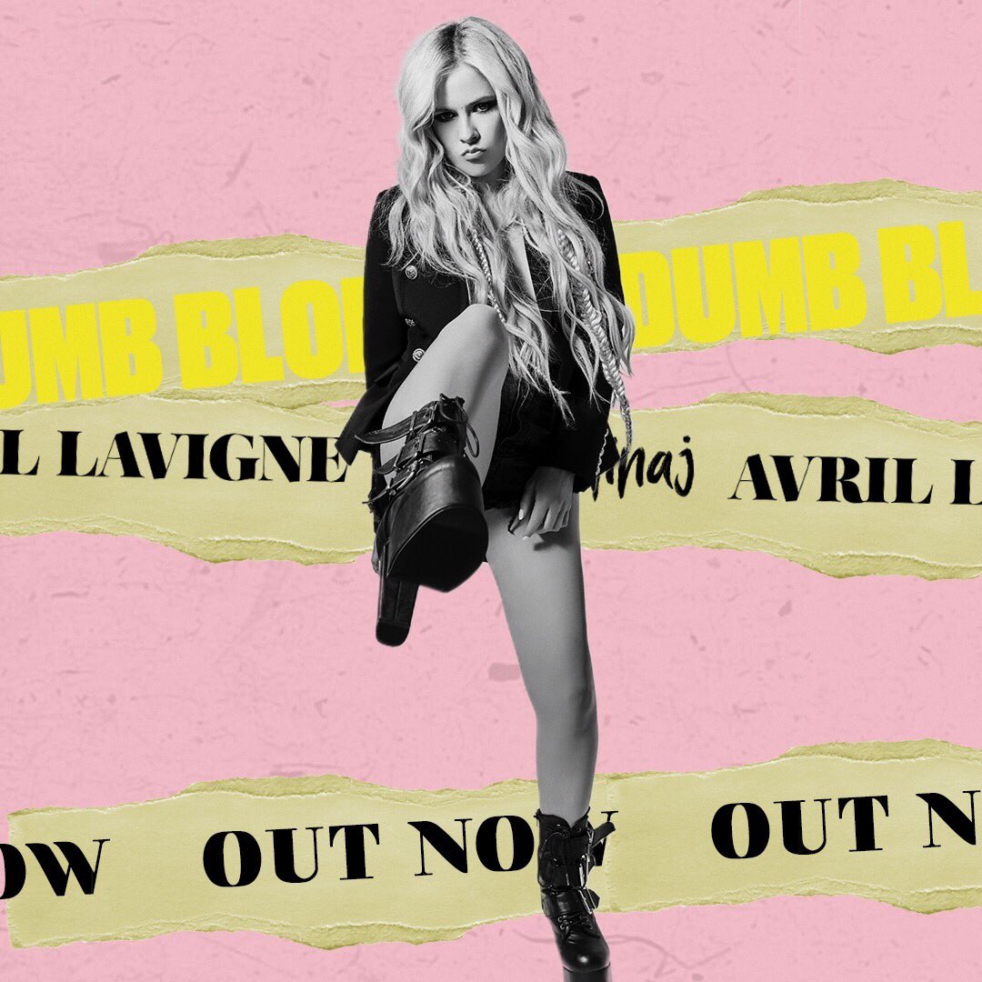 I can sting like a bee but I'm sweeter than honey �� #DumbBlonde #AvrilxNicki https://t.co/w9q7XQpD1B https://t.co/bml09eUJSD