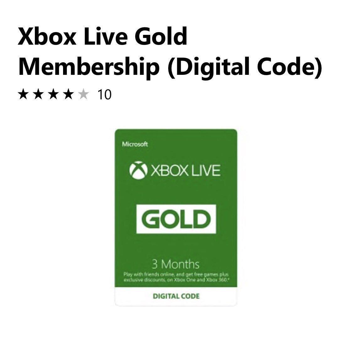 GIVEAWAY TIME** I am giving away a 3 month Xbox Live Gold