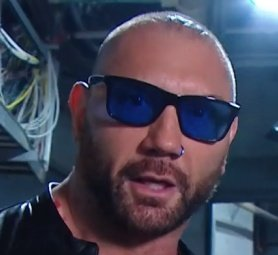 4e4e72187ae4 Just realised BlueTista back everybody, Blue Sunglasses & Blue Noise Ring welcome  back @DaveBautista