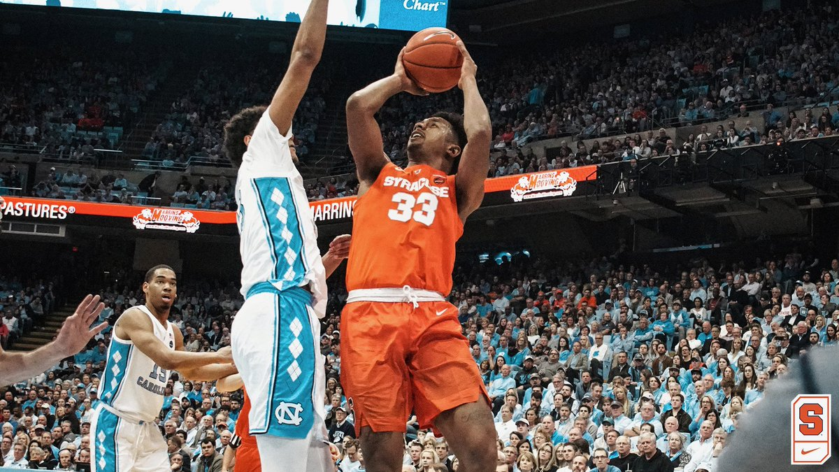 Orange head south to battle Tar Heels tonight (preview & info)
