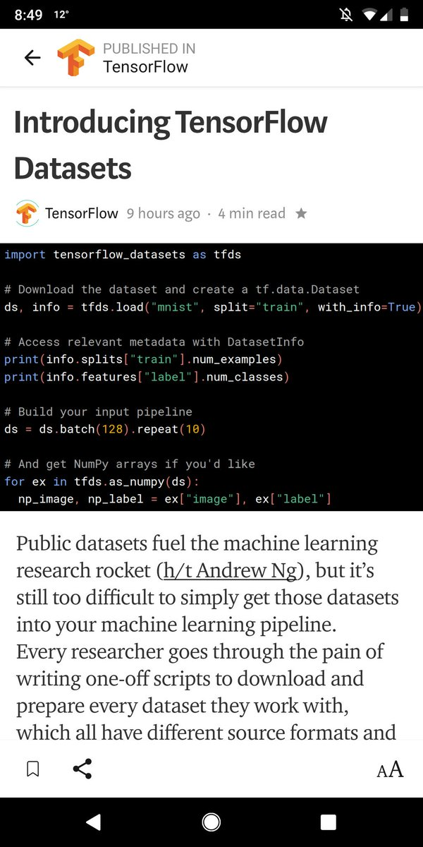 TensorFlow on Twitter: