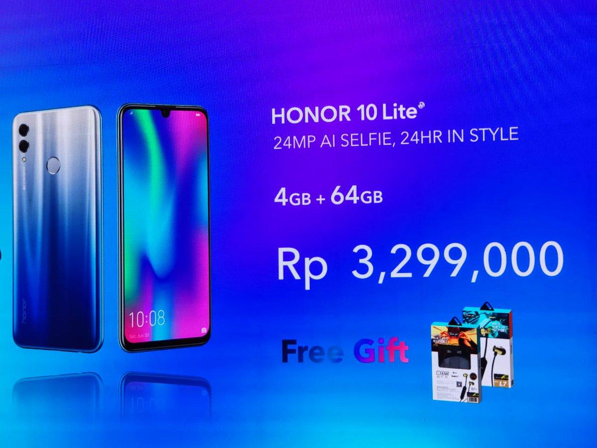 Honor 10 Lite, pesona memukau ponsel 6,21 inch 4