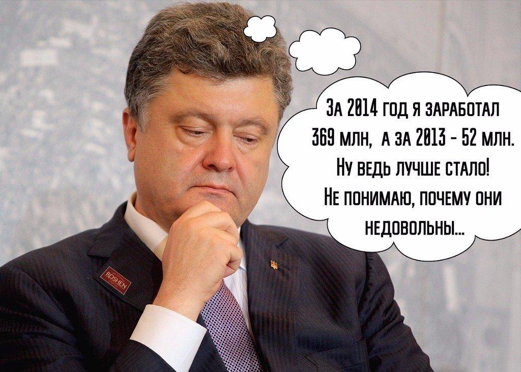 Приколы в картинках порошенко, мужчине том